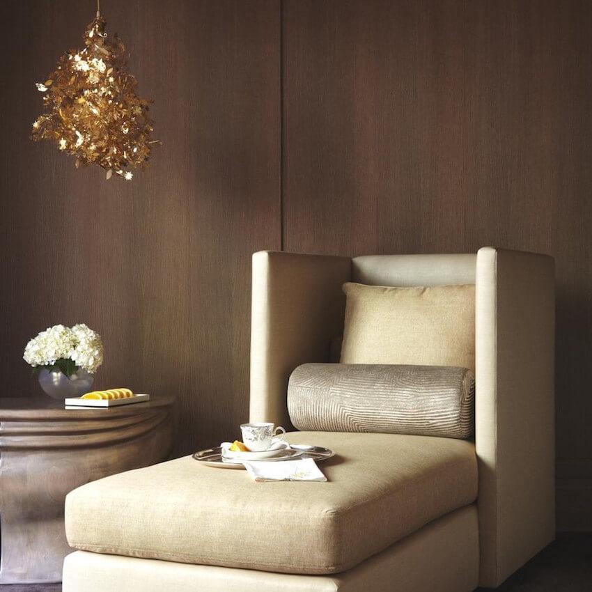 Custom furniture upholstery for a living room