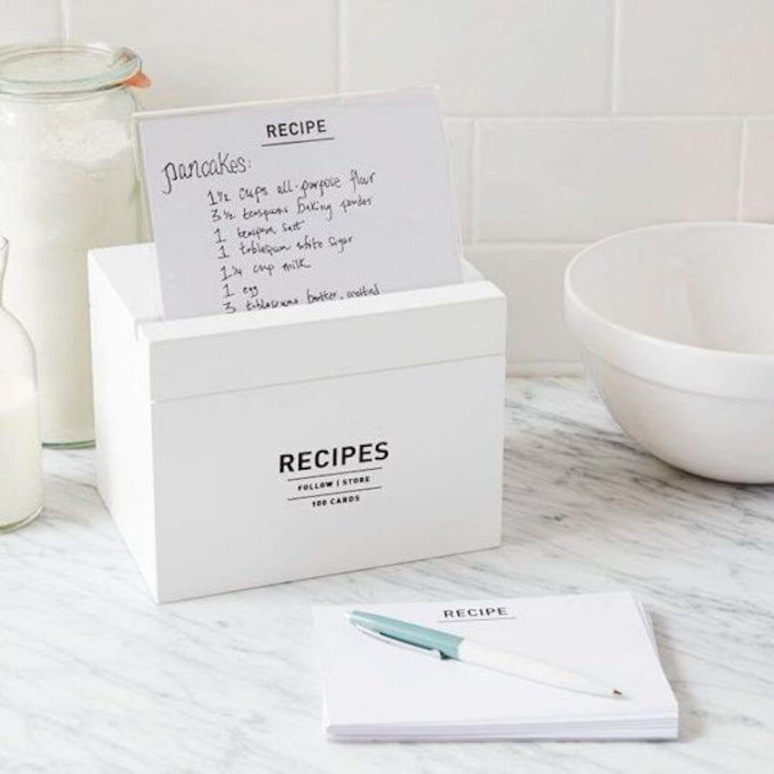 Keep those recipies handy on the countertops