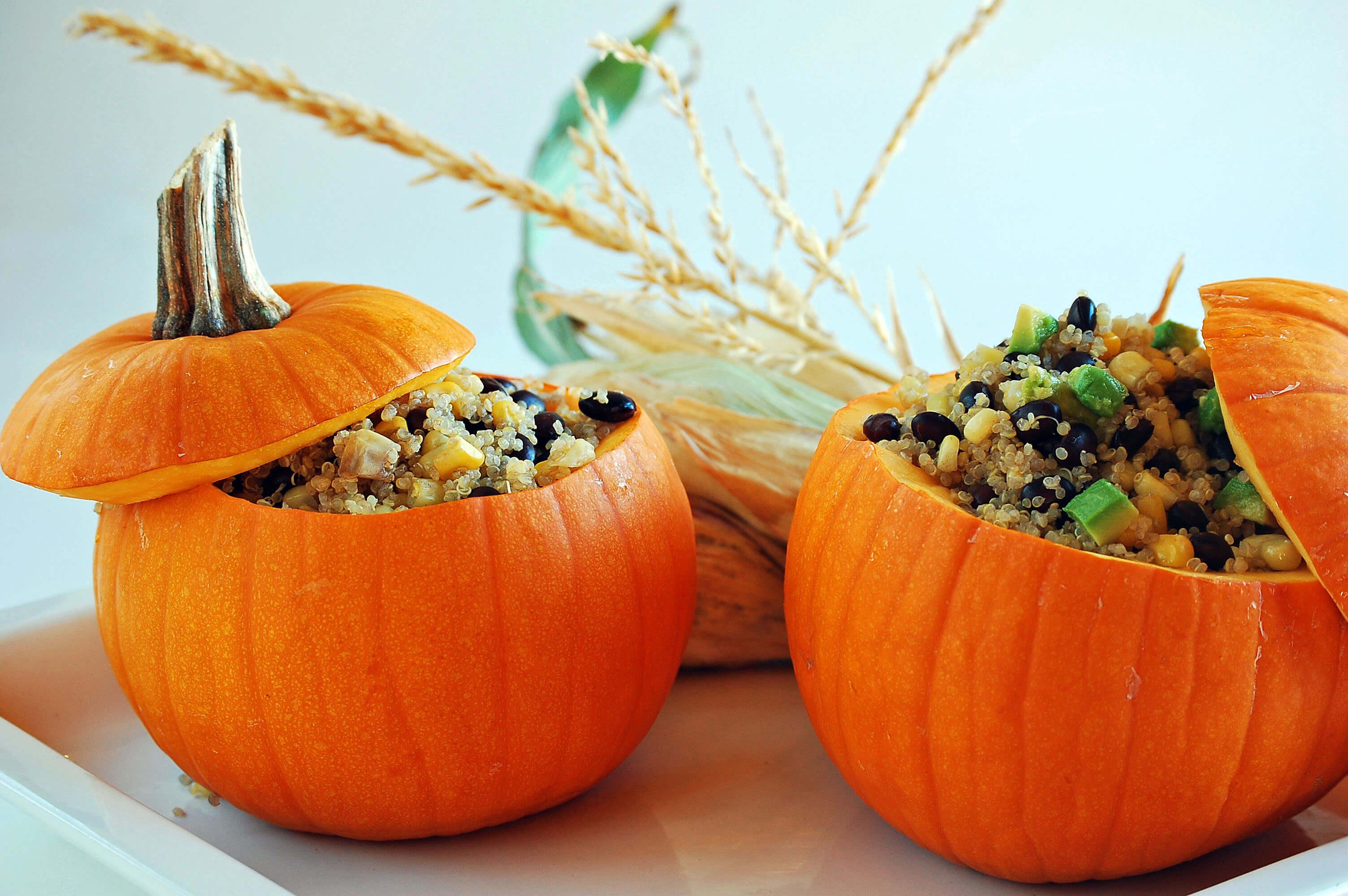 DIY pumpkin bowl for any interior kitchen table