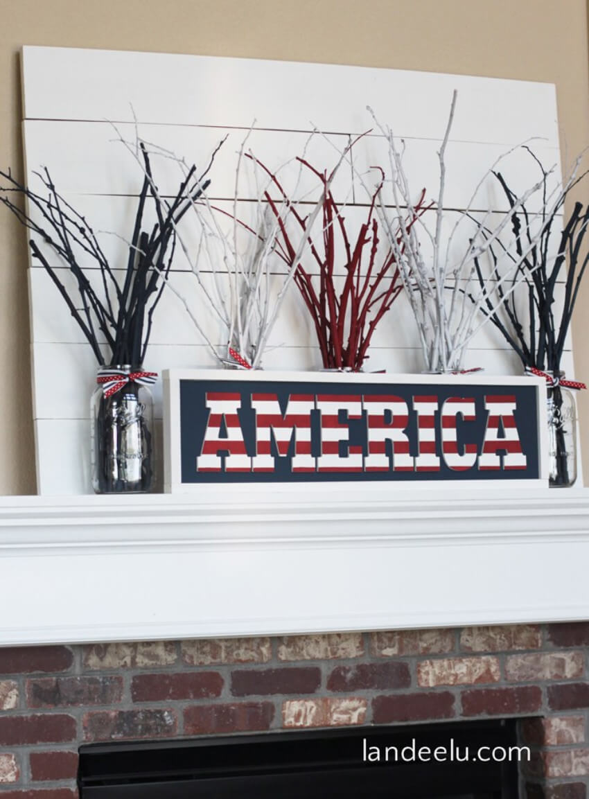 Every mantel would look great with this addition!