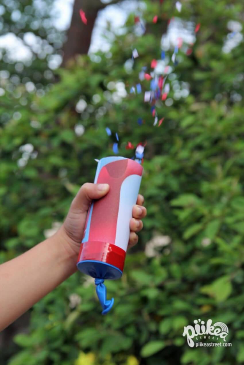 These confetti launchers will make the day even more fun!