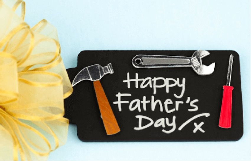 DIY Father's day projects for a busy dad at home