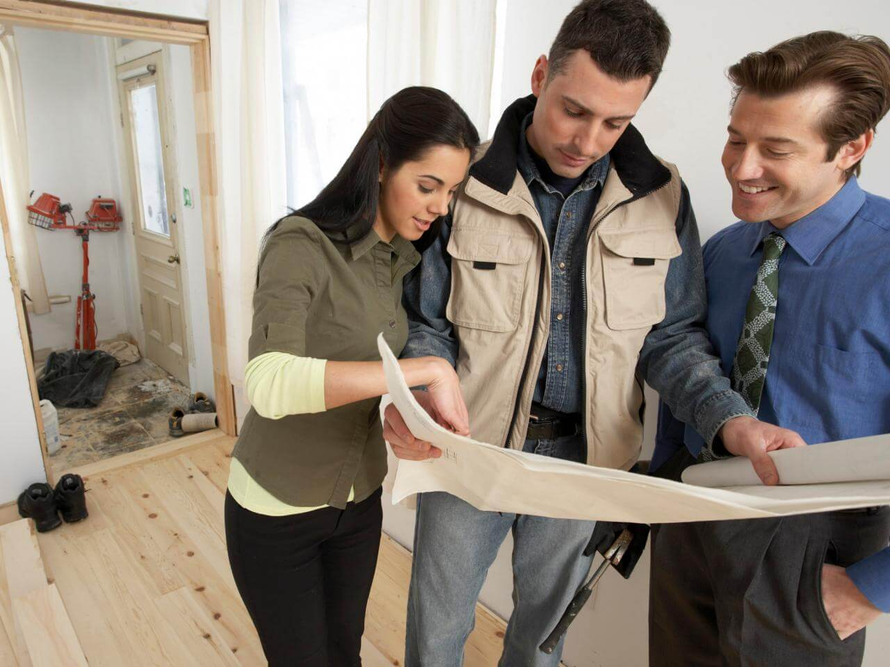Making sure everyone's on board with the remodeling design