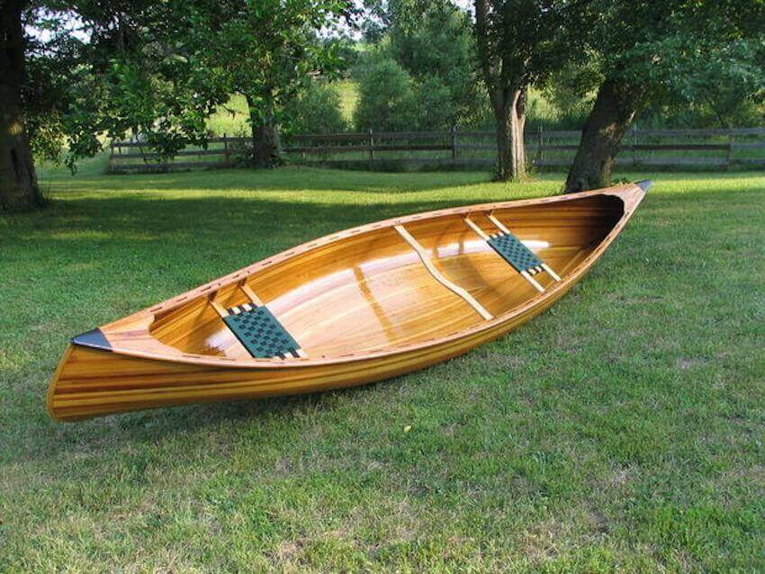 A canoe is an excellent DIY project for any avid outdoorsman.