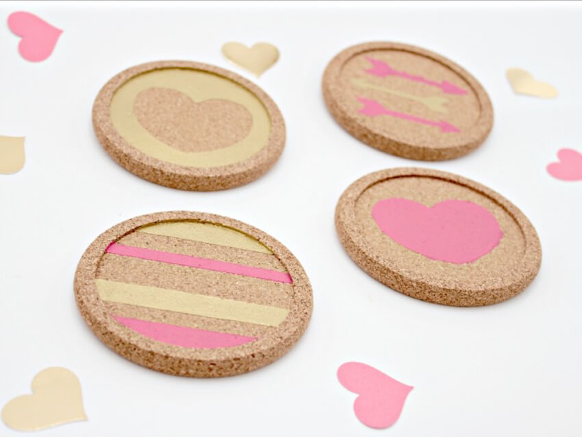 Home decor in the form of little coasters