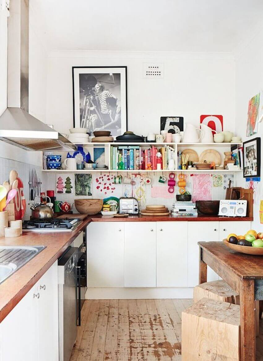 Organize your kitchen by color (and style)