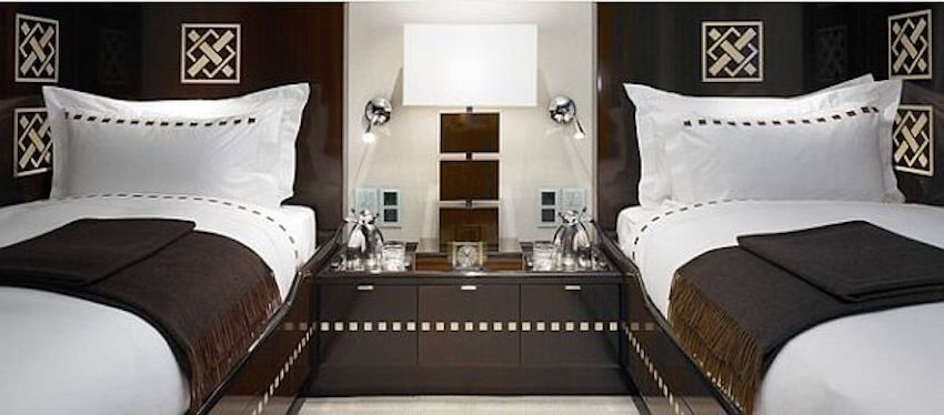 Elegant guest bedroom styles like a 5 star hotel