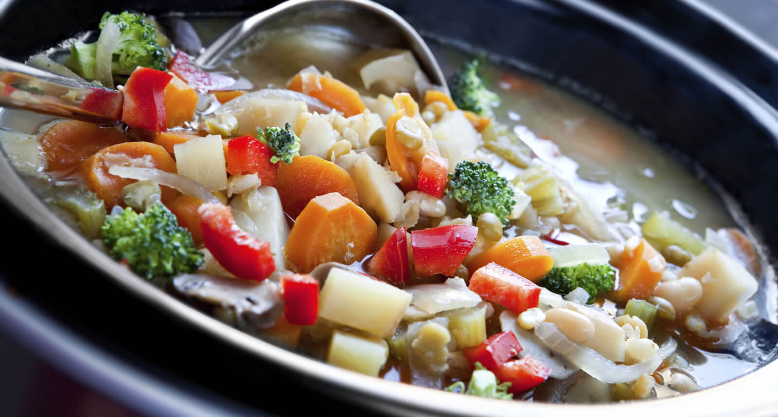 Even healthy things can emerge from slow cooking