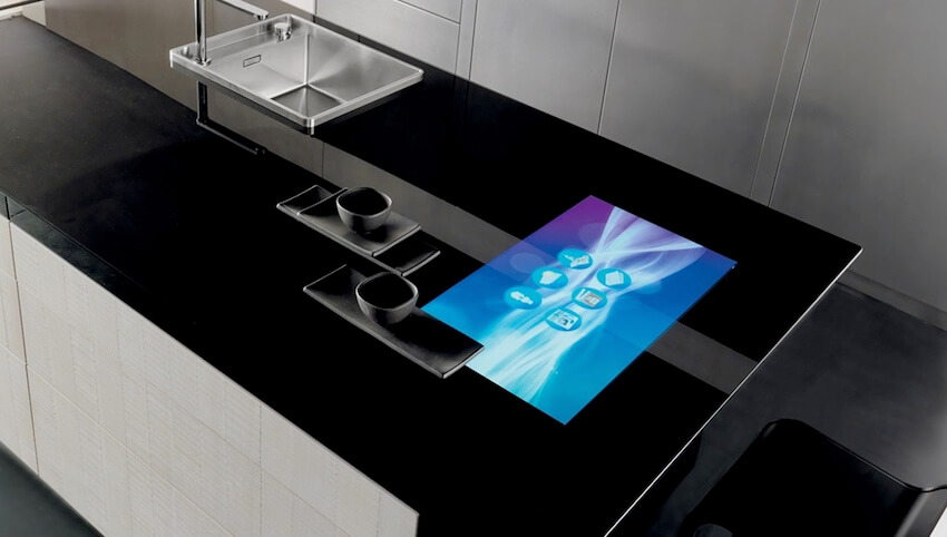 Touch-screen countertops: the ultimate in modern kitchen technology