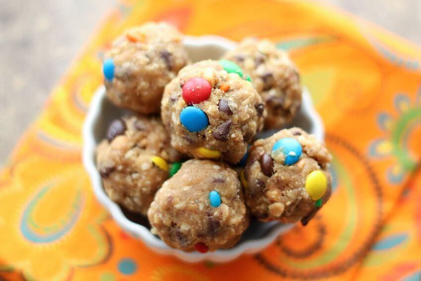 DIY kitchen tips: Monster cookie balls