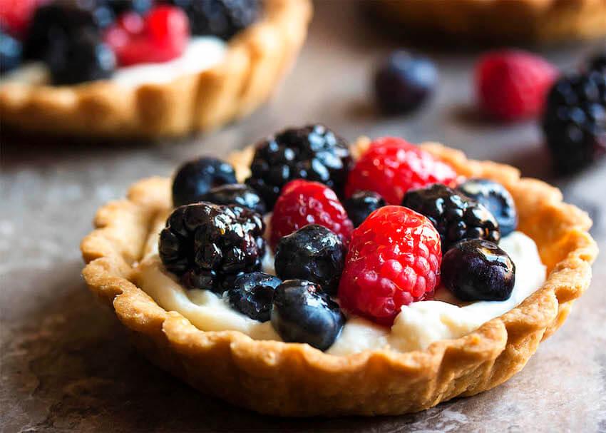 Kitchen recipes: Mascarpone Fruit Tart