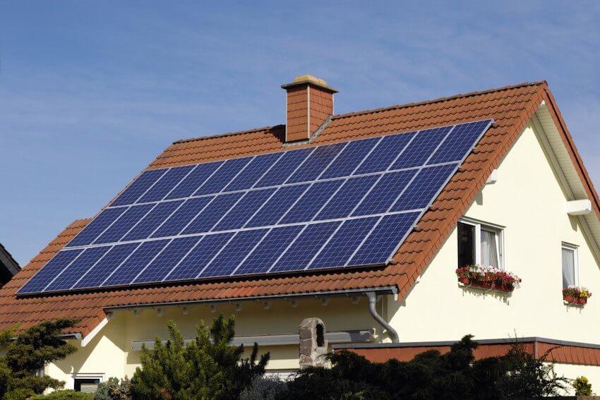 Solar panels increase property value