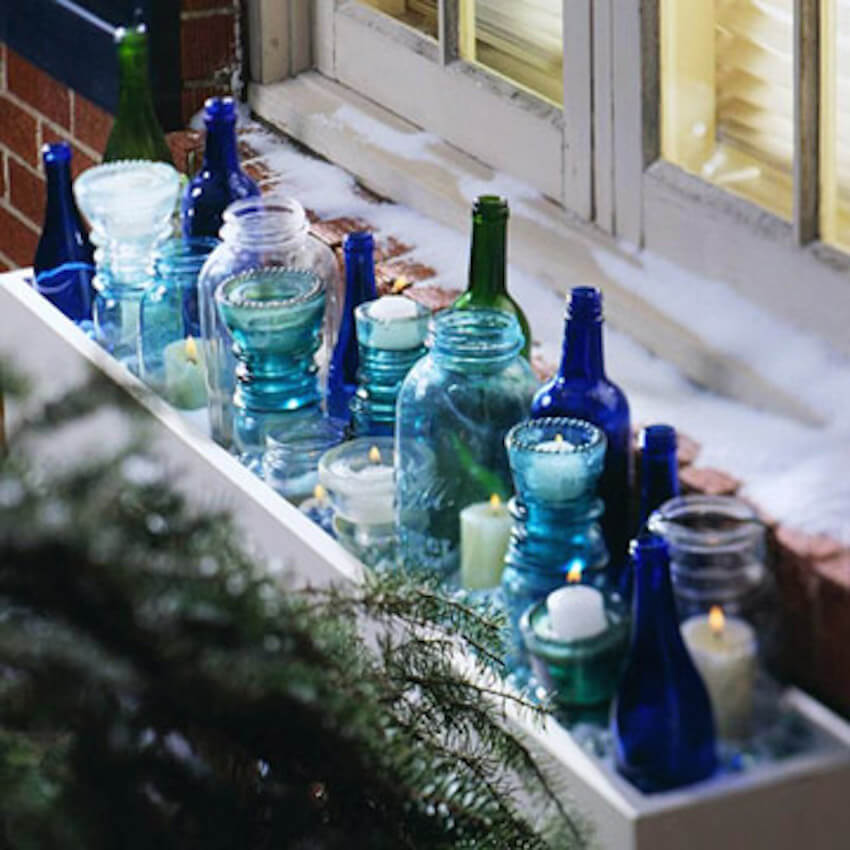 Add more glass to your windows for a colorful exterior suprise
