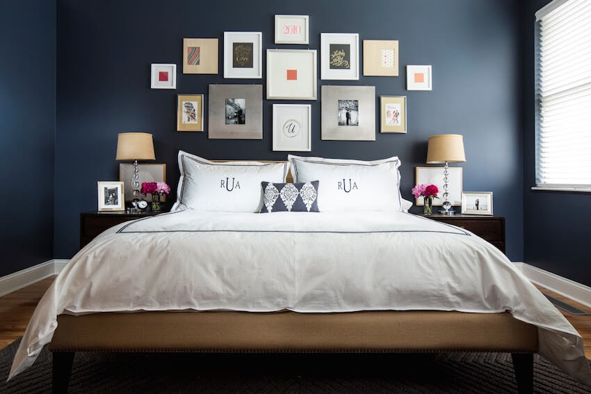 Improve bedroom sleep quality with interior paint