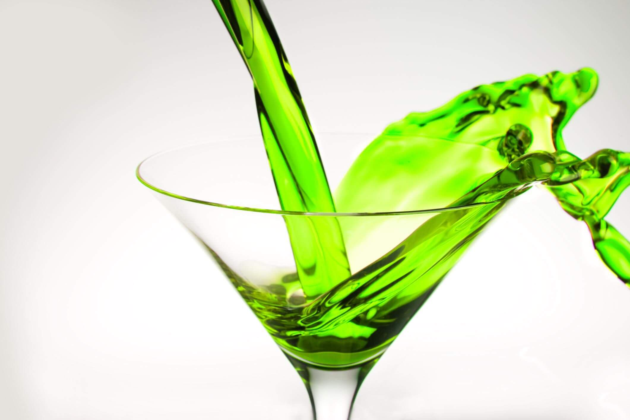 Anything in a martini glass is instantly classy