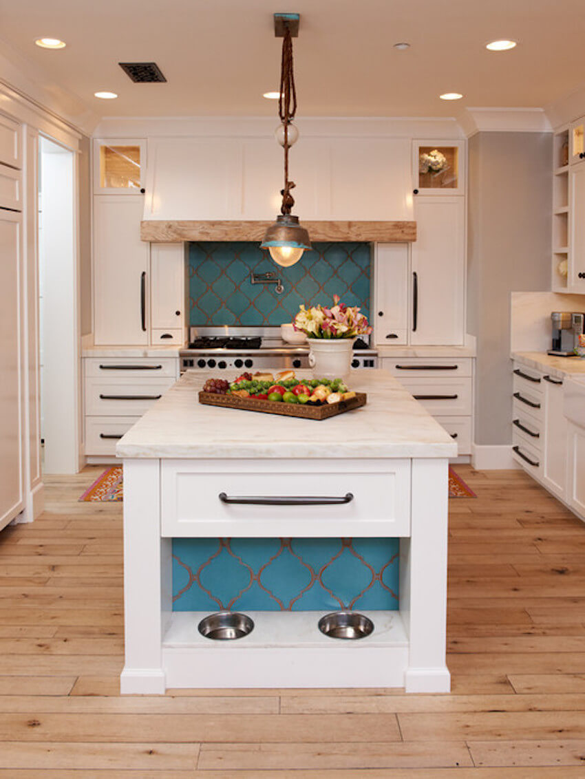 Kitchen remodeling with your pets in mind