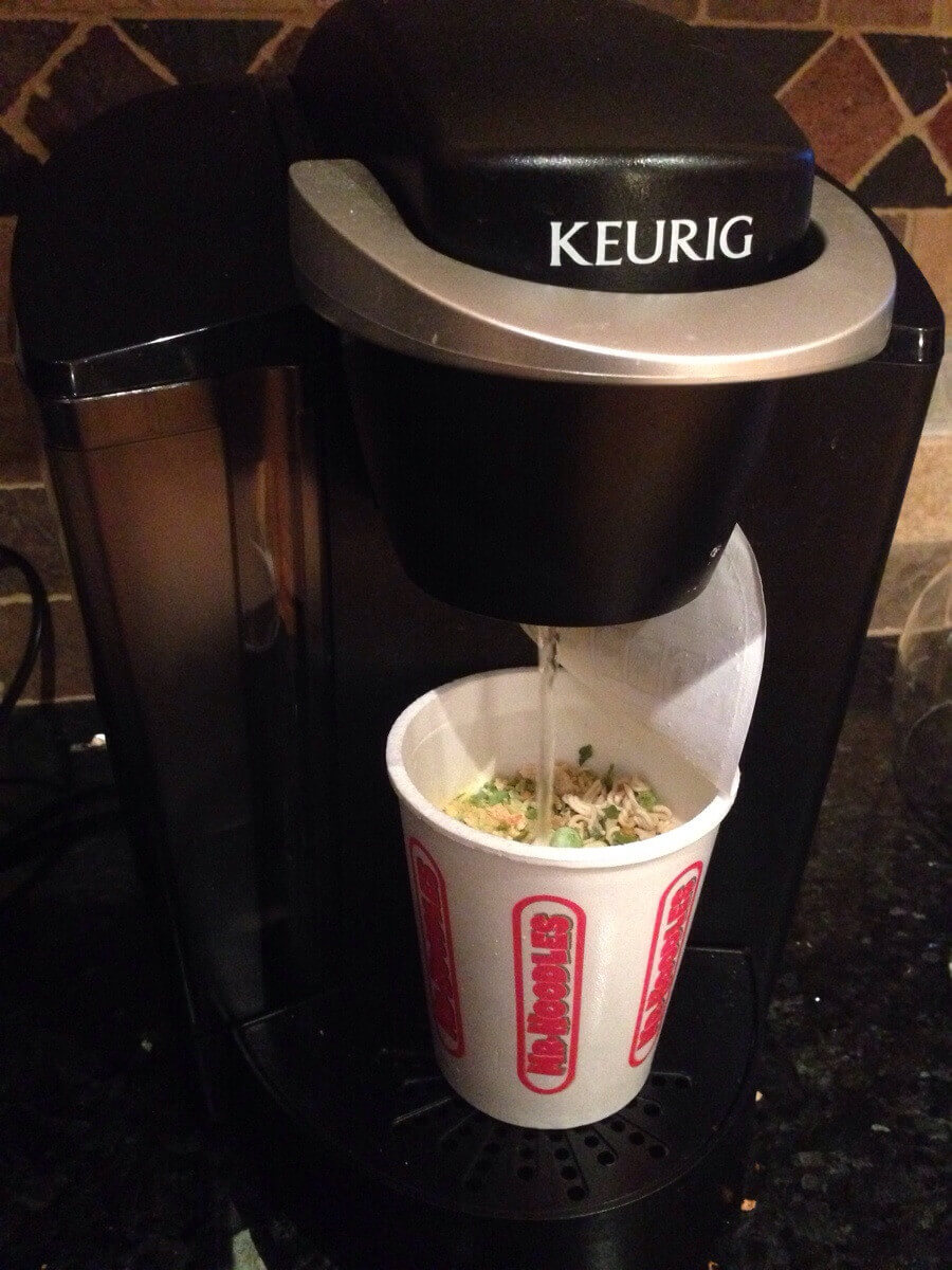 Ever use your k-cup unit to make noodles? Now you can!