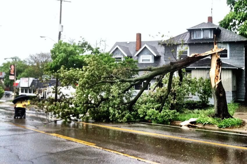 Hurricane doors will help protect your property