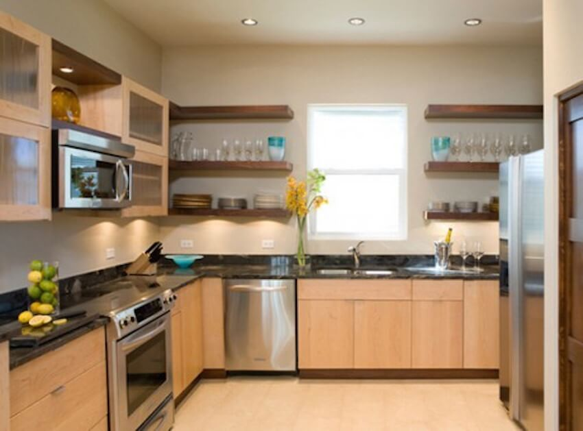 Countertops: eliminate the kitchen stuff you don't need or use to free up more space for the things you do use