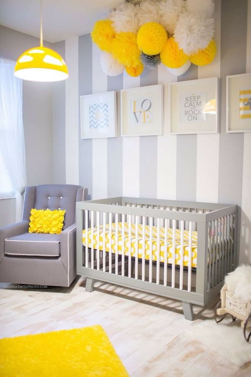 Yellow carpeting design for your child's bedroom