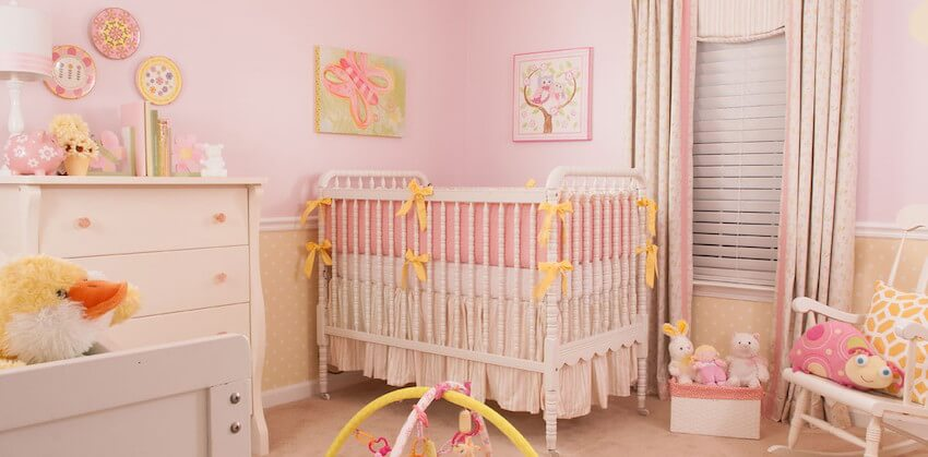 Painting pink bedrooms for your child