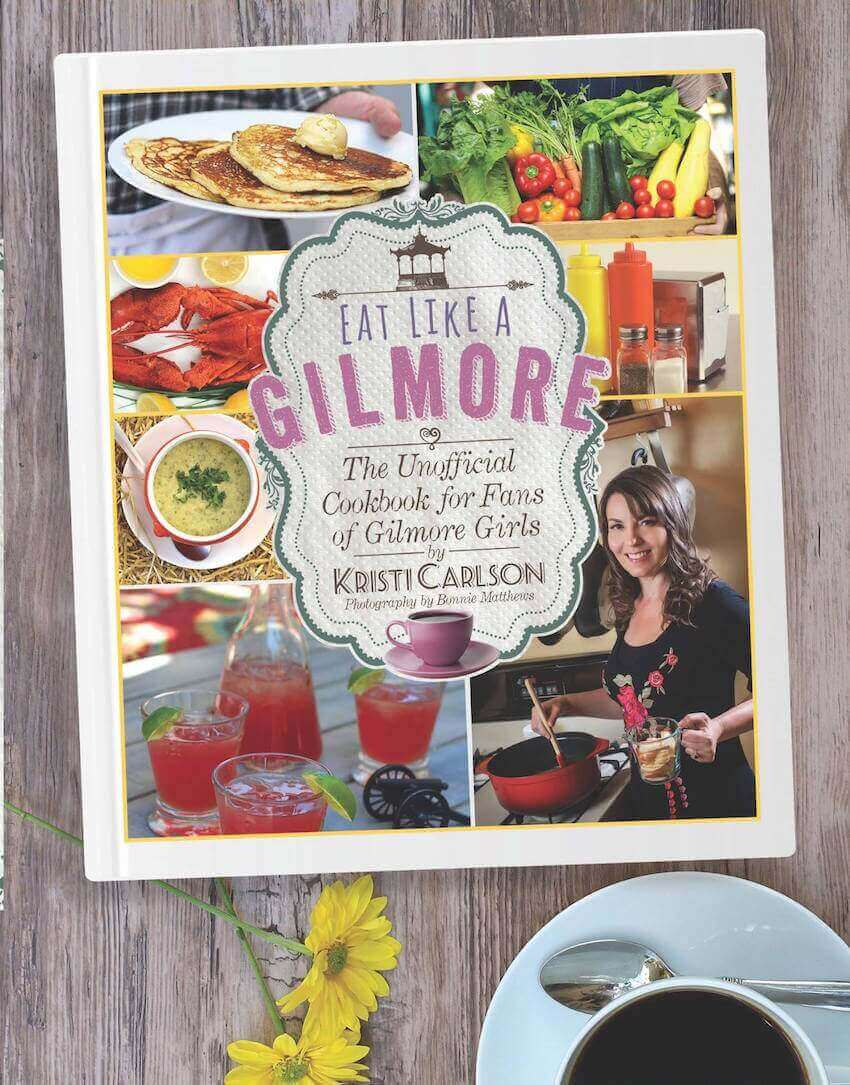 Eat like a Gilmore while you binge the revival mini series with this cook book!