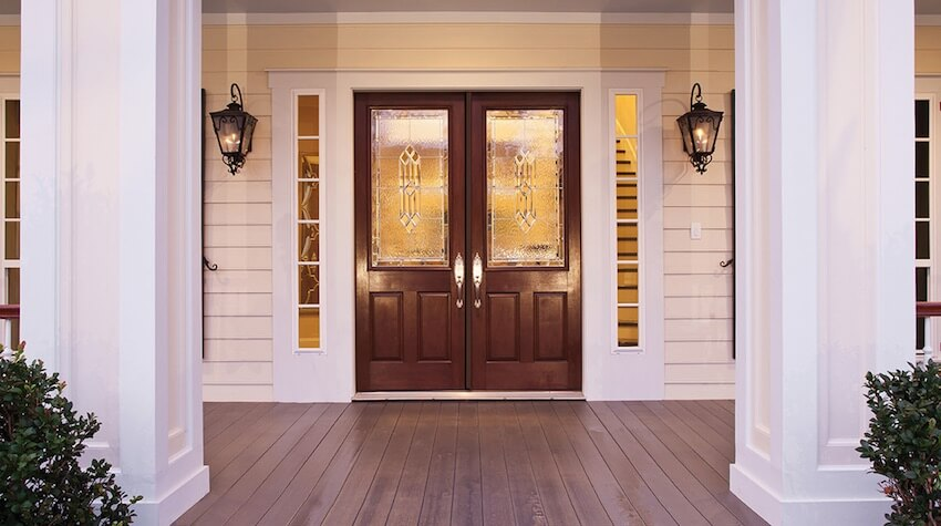 Paint the front door of your home for added benefits