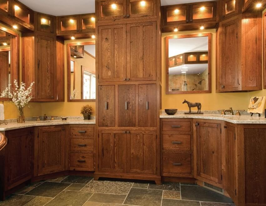 Paint or stain your own kitchen cabinets for a brand new look in your home