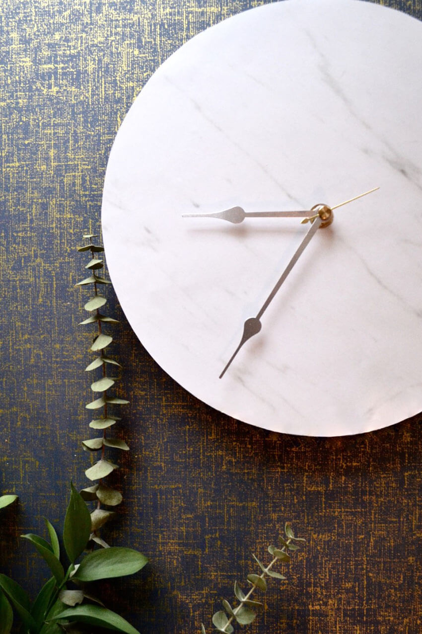 A gorgeous clock like this will surely transform any room.
