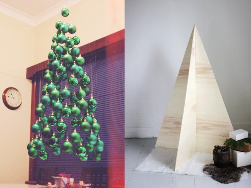 15 Best DIY Alternative Ideas to Christmas Trees