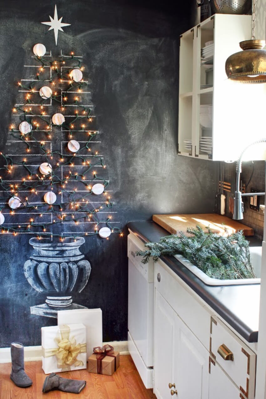A modern take on the Christmas tree!