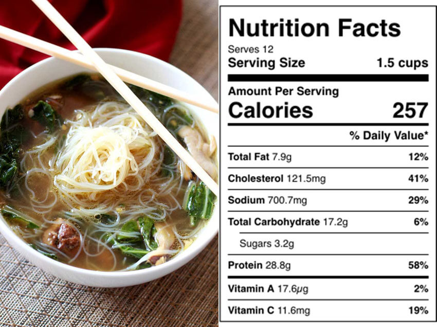 This Asian Chicken Noodle Soup is gluten-free and guilt-free!
