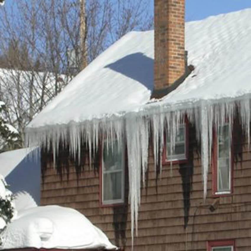Ice dams are a hassle for your roof and your siding