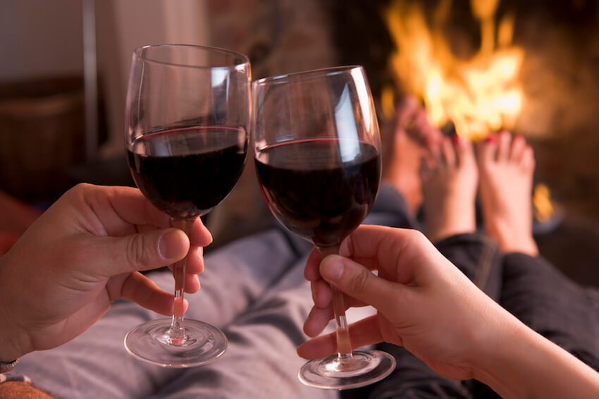 What's more romantic than having wine with your partner? A partner in wine