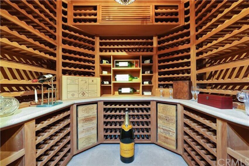 Custom DIY wine rack in your home