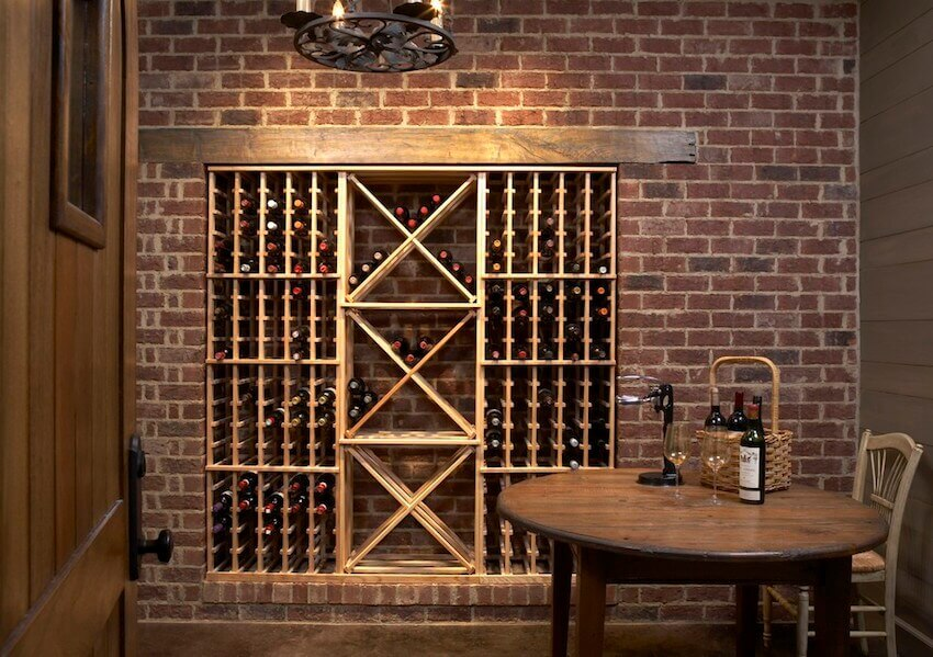 Custom DIY wine racks that look great in the home