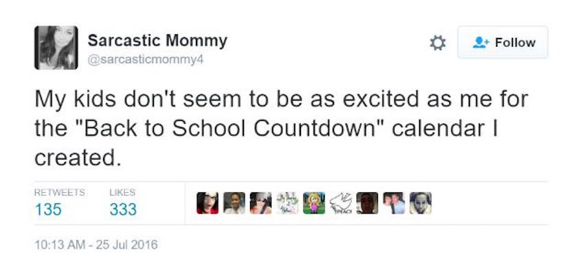Back to school countdown is happening in homes across the nation