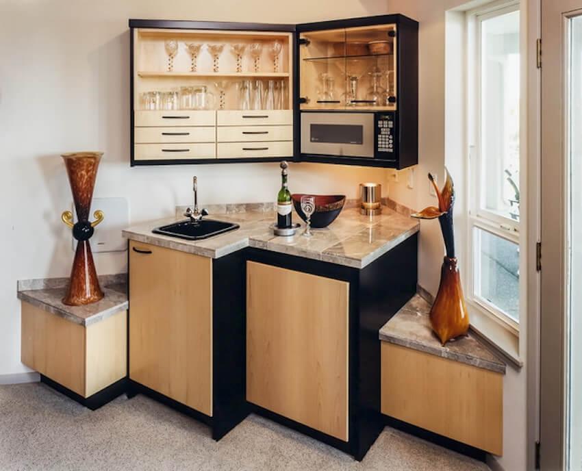 Super modern contemporary bar style