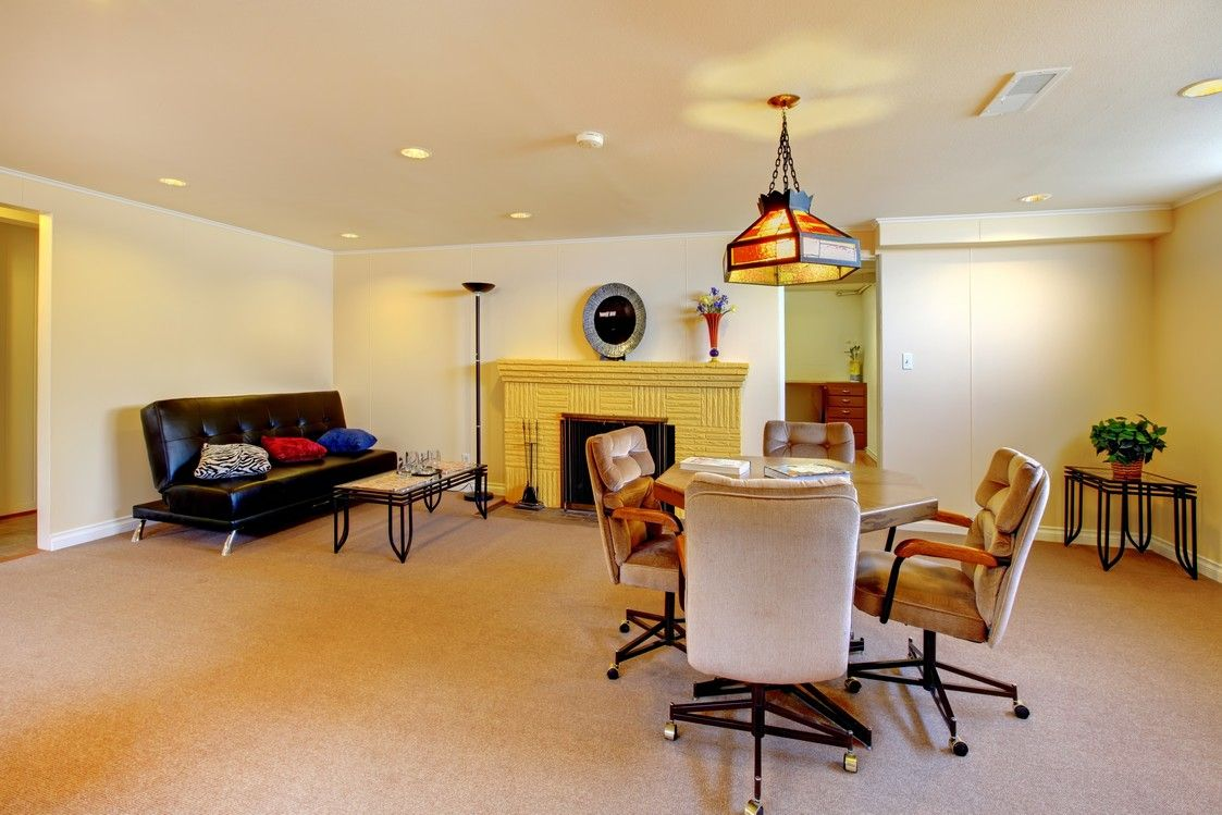 Remodel the basement into a living room