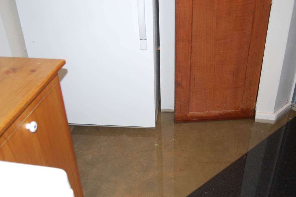Consider installing a dehumidifier in your basement if you notice condensation on the walls.