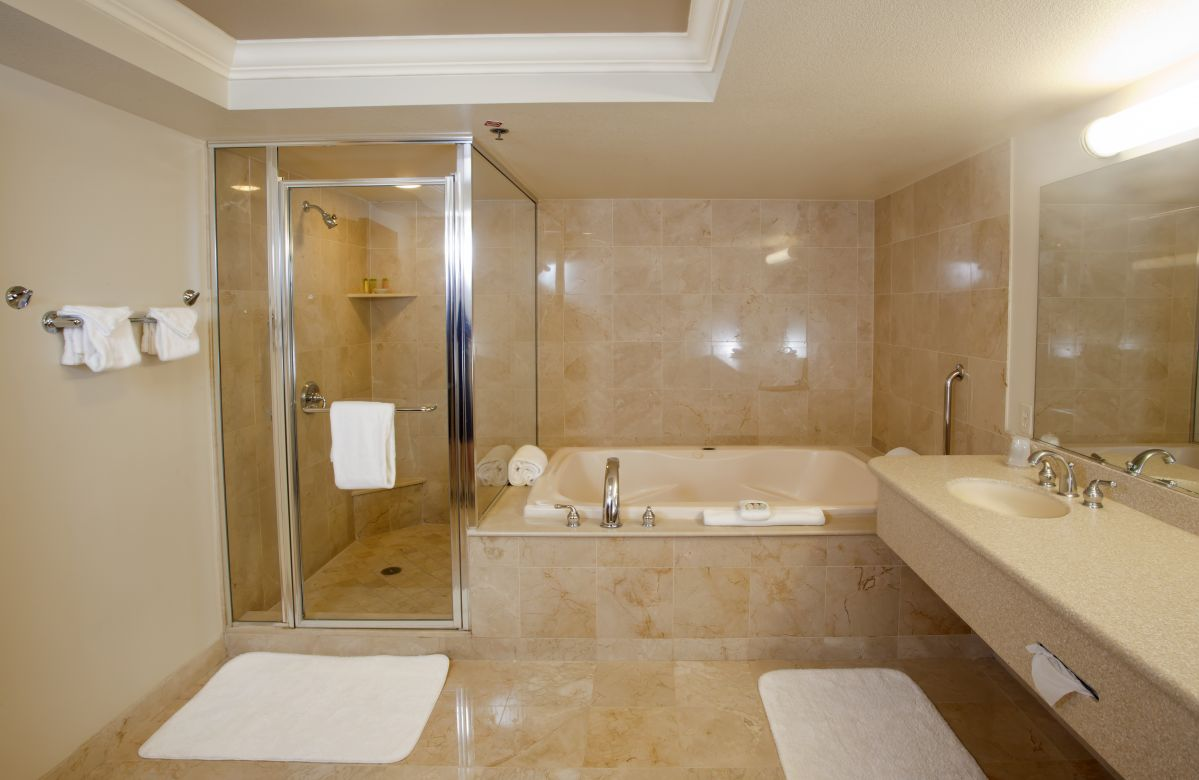 Check out this great guide to help you choose the right bathroom flooring.
