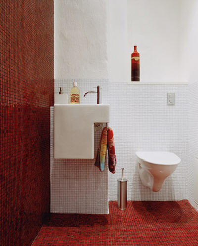 Having a small bathroom usually means lower remodeling cost.