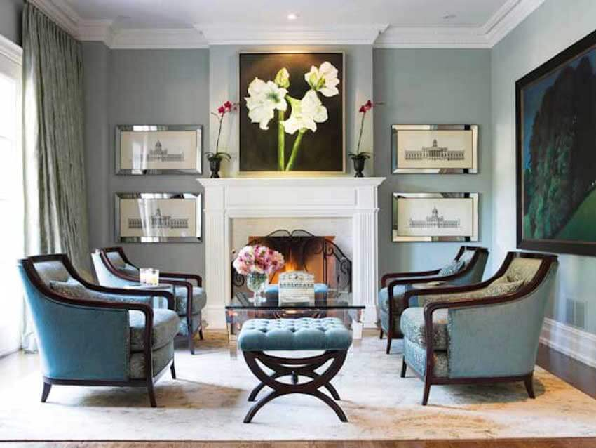 Elegant regal living room furniture designs