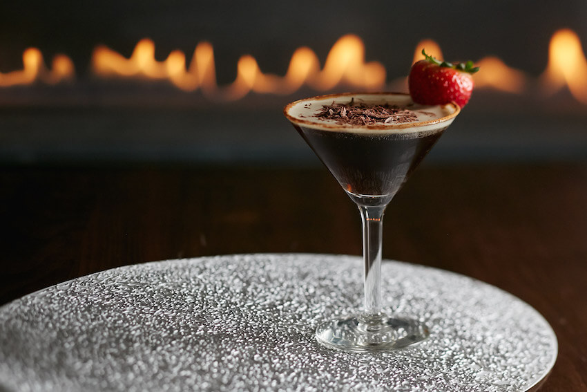 Dining drink options: the chocolatini