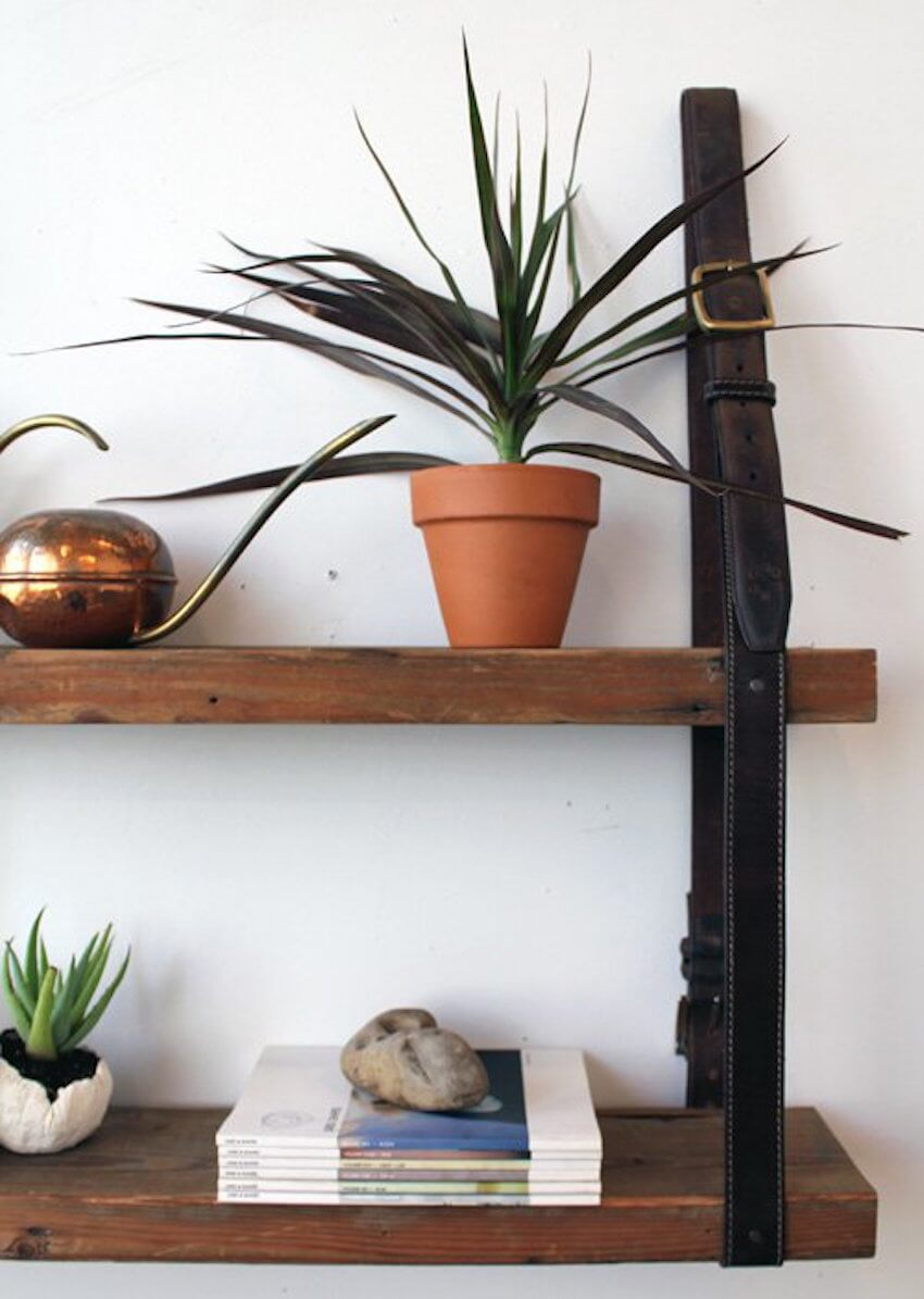 Wall shelving structures that hold up under pressure