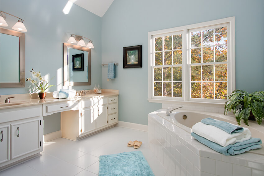 Bathrooms, tiles, and tubs are also a major selling point