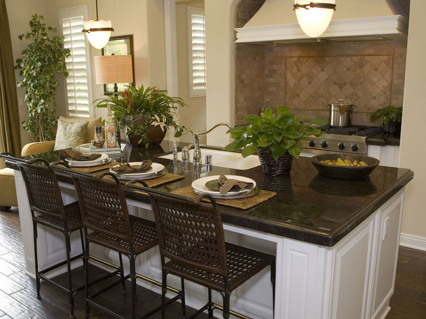 Kitchen and dining room tables always prove to be a boost in sales