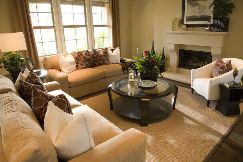Living rooms, hallways, interiors are some of the more standard areas of interest