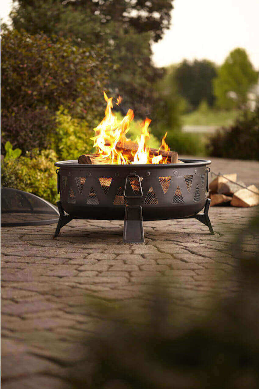 Fire pits are a great way to relax and cook some food