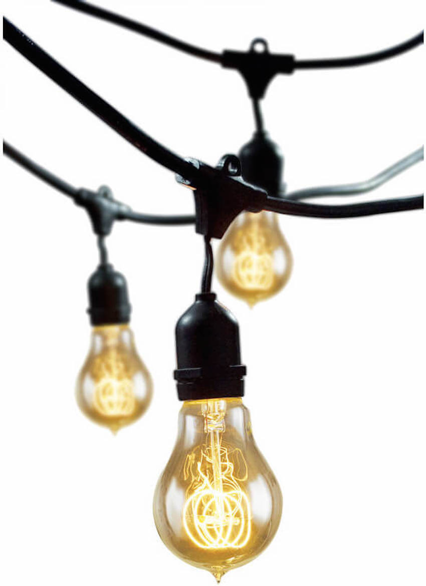 Exterior hanging lights for your lawn